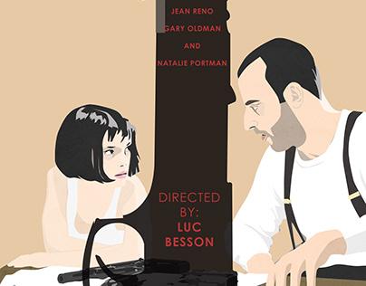 "Film illustration2 ""Léon: The Professional"""