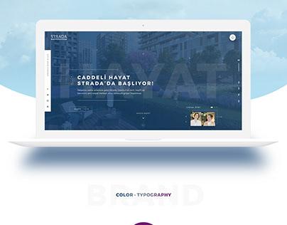 Akzirve - Strada - Web Design