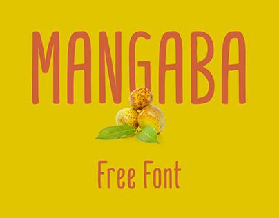 Mangaba - Free Font