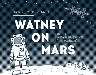 """""""The Martian"""" Infograph (spoilers!)"""