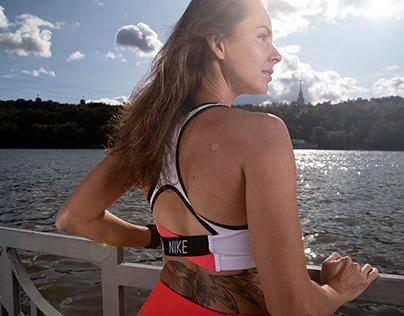 Katya Moiseeva for Nike