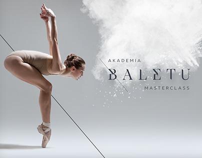 AKADEMIA BALETU MASTERCLASS • branding