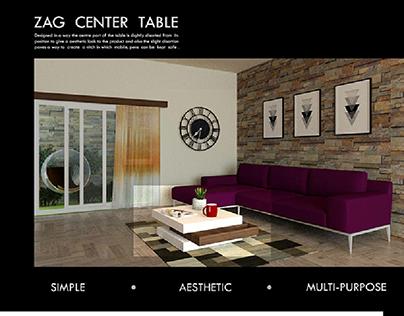 ZAG centre table