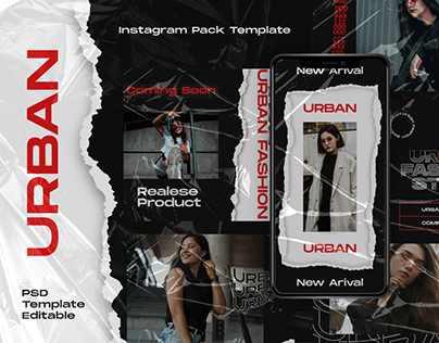 Urban Story & Feed Instagram Template