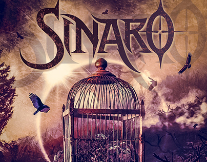 "SINARO ""Ruins of The Empire"" CD artwork"