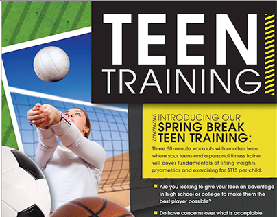 SAC Fitness Programming: Teen Training