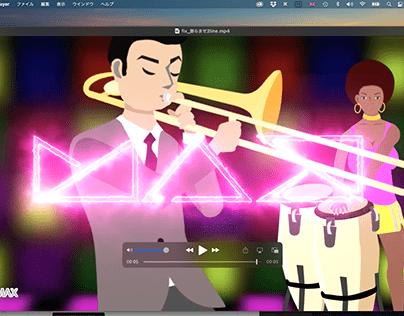Adobe Max 2021 モーション部門応募作品2