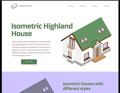 Isometric Highland House
