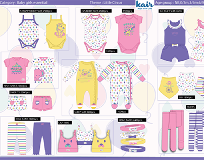 Kair Newborn Girls collection