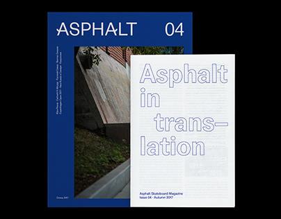 Asphalt Skateboard Magazine, issue 4