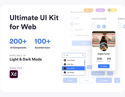 Ultimate UI Kit for Web