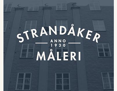 Logo for Strandåker Måleri