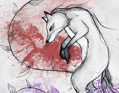 Ilustración zorro