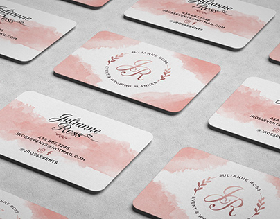 J. Ross Events – Visual Identity