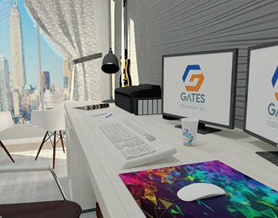 Home Office 3D
