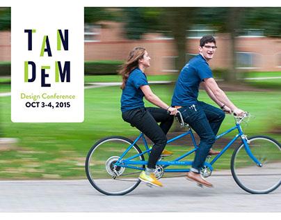 Tandem Design Conference Branding & Event