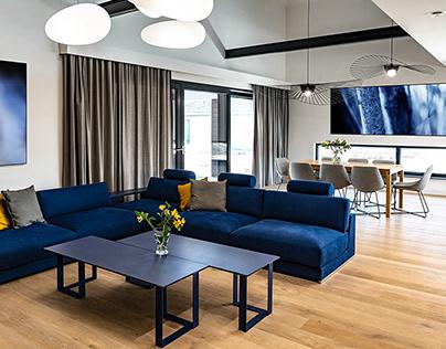 2018: Modern suburban house interiors / Dom podmiejski