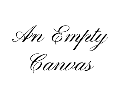 An Empty Canvas - GGJ2019