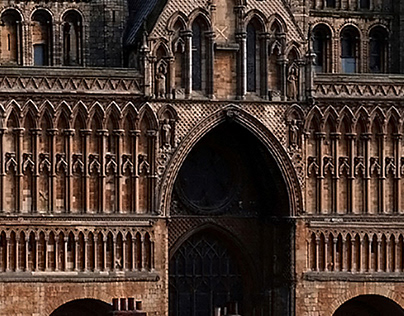 Lincoln Cathedral by Martin Billings