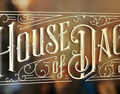 House of Daggers Signage Design
