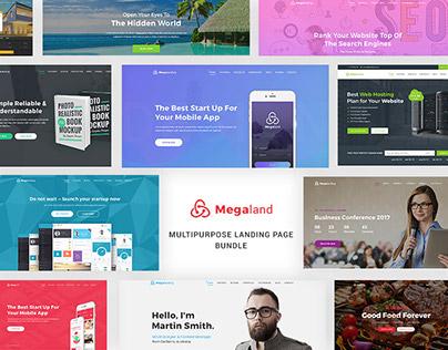 Megaland - Multipurpose Landing Page
