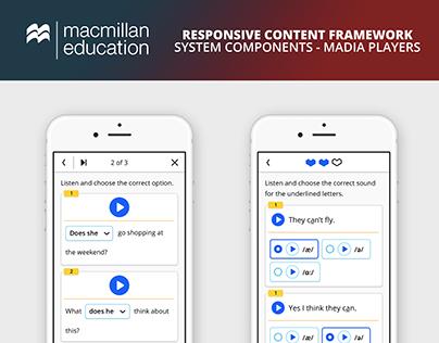 Macmillan Education RCF Media Players