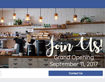 Kahvi's Coffee Facebook Headers