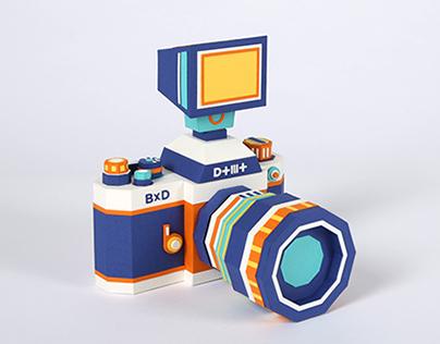 DOTMOT Paper Camera Kit