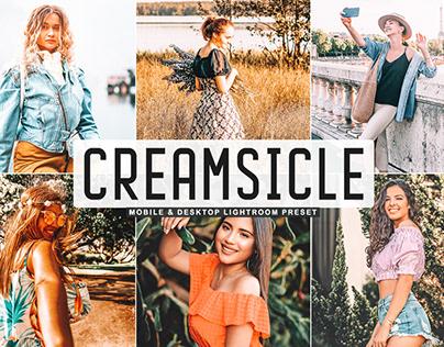 Free Creamsicle Mobile & Desktop Lightroom Preset