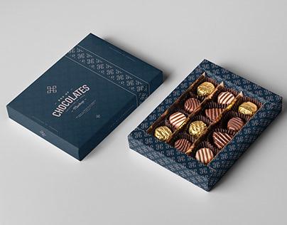 Box Of Chocolates Mock-up
