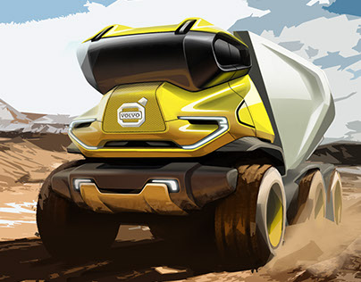 Volvo future truck