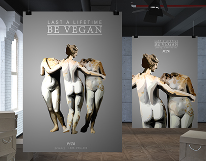 Be Vegan for PETA