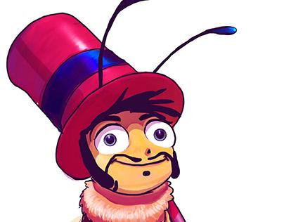 Character Design - bee