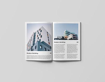 Open Magazine Mockup