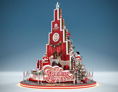 City Center Alexandria Christmas Tree 2020