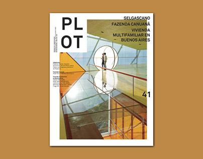 PLOT #41 - Editorial Design