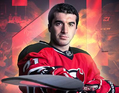 Kyle Palmieri Street Devils Poster