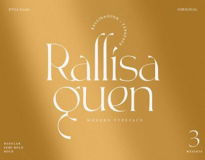 Rallisaguen - Free Typeface