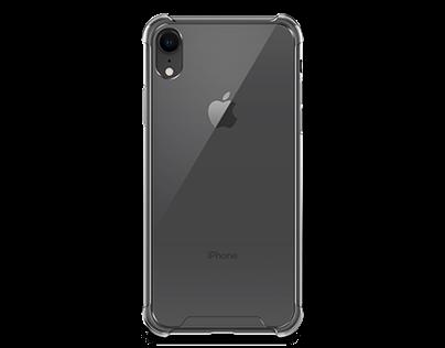 Apple iPhone XR Anti-Scratch Case Mock-up