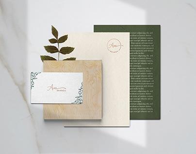 Ava Brands branding and packaging