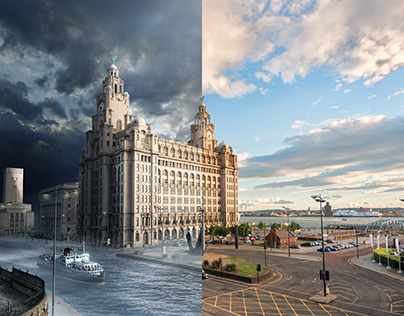 What if... Liver Building photo-manipulation