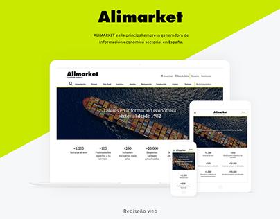 Alimarket (Rediseño web)