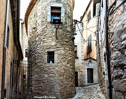 Street of Santa Llúcia - Girona