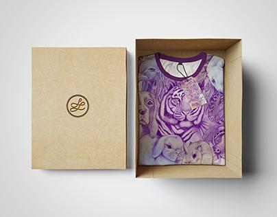 Illustrated Merchandise & Apparel