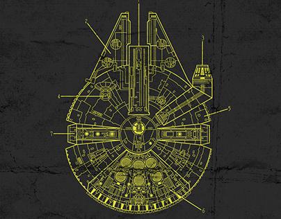 Planos naves Star Wars