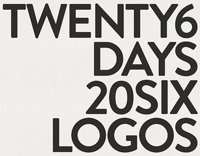 26 Days 26 Logos