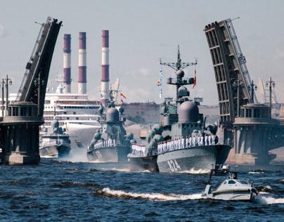 «Day of Navy» in Saint-Petersburg