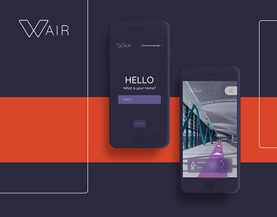 Wair - application to help people at any airport .