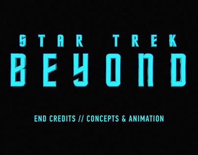 Star Trek Beyond / End Credits / Animation Concepts