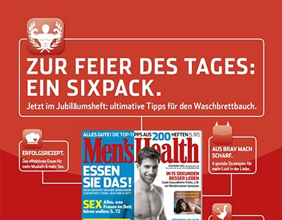 Men's Health – Printkampagne